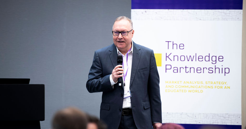 Dave Roberts speaking at TKP's 2019 Market Insight Conference